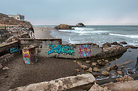 Sutro Baths. San Francisco, CA. Copyright 2017 Reid McNally.
