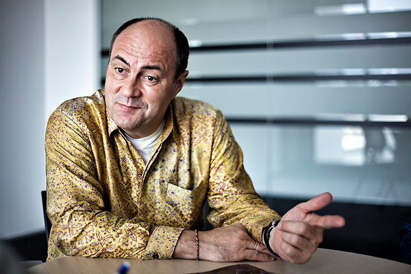 Jochen Zaumseil, L'Oréal's Executive Vice-President, Asia Pacific Zone
