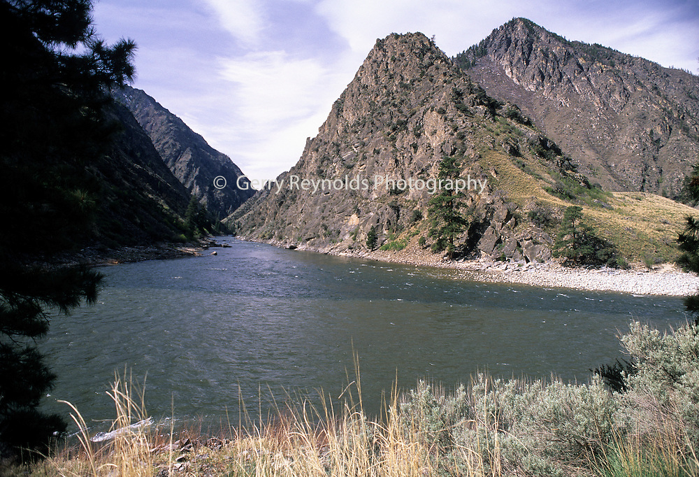 Confluence, Salmon River, Middle Fork of the Salmon River, Middle Fork, North Fork, Salmon, Idaho