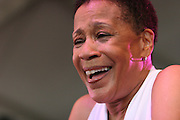 June 16, 2006; Manchester, TN.  2006 Bonnaroo Music Festival..Bettye LaVette peforms at Bonnaroo 2006.  Photo by Bryan Rinnert