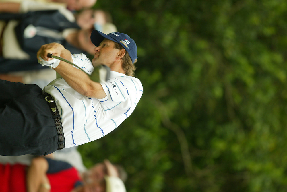 Retief Goosen.2003 Tour Championship.Final Round.Champions Golf Club.Houston, TX.November 9, 2003..photograph by Darren Carroll