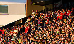 Bristol City fans at Norwich City - Mandatory by-line: Robbie Stephenson/JMP - 16/08/2016 - FOOTBALL - Carrow Road - Norwich, England - Norwich City v Bristol City - Sky Bet Championship
