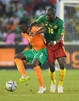 Ousmane Diarrasouba  ( Cote Ivoire ) - Vincent Aboubakar ( cameroun )