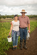 Lane Selman and Jim Myers specialize in Organic Seed Breedings at Oregon State University.