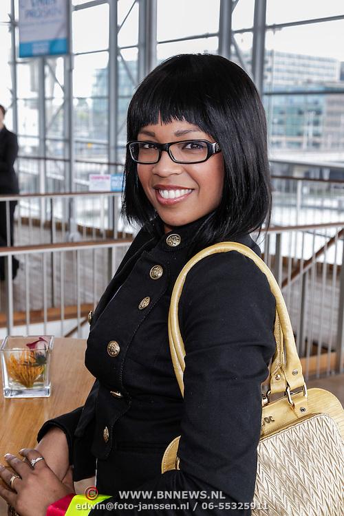 NLD/Amsterdam/20120515 - Bekendmaking Mooiste Benen van Nederland 2012, Rafaella Paton