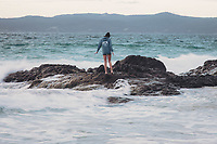 blue fridge brewery merchandise photo shoot at otama beach on the coromandel felicity jean photography