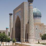 Sher Dor Medrassa at Samarkand's Registan