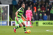 Forest Green Rovers Farrend Rawson(20) during the EFL Sky Bet League 2 match between Forest Green Rovers and Coventry City at the New Lawn, Forest Green, United Kingdom on 3 February 2018. Picture by Shane Healey.
