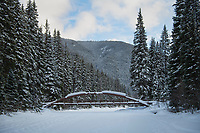 Lightning Lakes Bridge, Manning Provincial Park British Columbia.