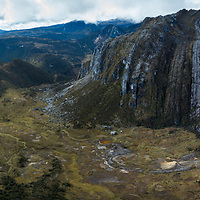 Uplifted by the collision of continents, the jagged limestone peaks of New Guinea's Central Range rise to nearly 5000 meters in height. The alpine vegetation of these remote mountain ridges and valleys are home to a rich assortment of endemic plants and animals, many of which are new to science.