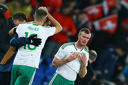 November 12, 2017 - Basel, Switzerland - FIFA World Cup Qualifiers play-off Switzerland v Northern Ireland.The disappointment of Chris Brunt of Northern Ireland at St. Jakob-Park in Basel, Switzerland on November 12, 2017. (Credit Image: © Matteo Ciambelli/NurPhoto via ZUMA Press)