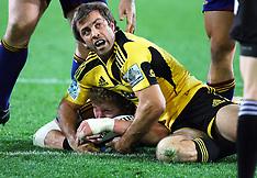 Dunedin-Rugby, Super 15, Highlanders v Hurricanes