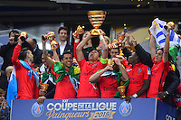 Victoire du PSG /  THIAGO SILVA - 11.04.2015 -  Bastia / PSG - Finale de la Coupe de la Ligue 2015<br />