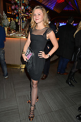 AMBER ATHERTON at the fourth annual Fayre of St James's charity Christmas concert hosted by the Quintessentially Foundation and The Crown Estate in partnership with Deutsche Asset & Wealth Management held at  St James's Church, 197 Piccadilly, London followed by a party at Quaglino's 16 Bury Street, London on 24th November 2015.
