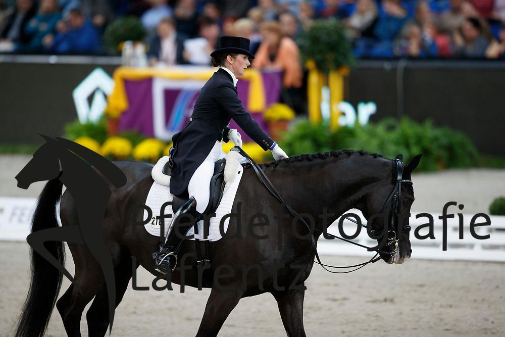 Reynolds, Judy (IRL) Vancouver K<br /> Stuttgart - German Masters 2016<br /> © www.sportfotos-lafrentz.de