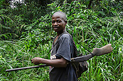 Local hunter<br /> Republic of Congo (Congo - Brazzaville)<br /> AFRICA
