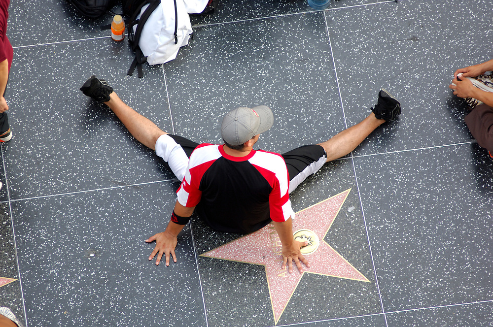 Walk of Fame, Hollywood Boulevard, Hollywood, Los Angeles, California, United States of America