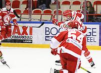 2020-03-06   Ljungby, Sverige: Troja-Ljungby (25) Mattias Åkesson under matchen i Hockeyettan mellan IF Troja/Ljungby och Bodens HF i Ljungby Arena ( Foto av: Fredrik Sten   Swe Press Photo )<br /> <br /> Nyckelord: Ljungby, Ishockey, Hockeyettan, Ljungby Arena, IF Troja/Ljungby, Bodens HF, fstb200306, playoff, kval