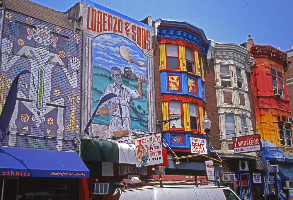 South Street Building Facade Art, Philadelphia, PA