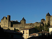 CARCASSONNE FRANCE OLDEST MEDIEVAL CITY IN EUROPE