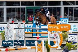 HOUTZAGER Marc (NED), Sterrehof's Dante<br /> Hagen - Horses and Dreams 2019<br /> Preis der LVM Versicherung - CSI4* Quali. BEMER-RIDERS TOUR-Wertung<br /> 27. April 2019<br /> © www.sportfotos-lafrentz.de/Stefan Lafrentz