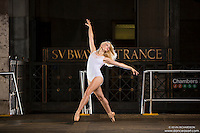 New York City Subway Dance As Art Photography Project with ballerina Marah King