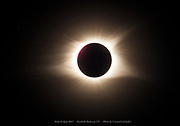 Solar Eclipse over the Foothills Parkway in Tennessee on August 21, 2017. Photo by Crystal LoGiudice