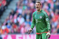 Torwart Manuel Neuer (Bayern)<br /> Muenchen, 16.04.2016, Fussball Bundesliga, FC Bayern Muenchen - FC Schalke 04 3:0