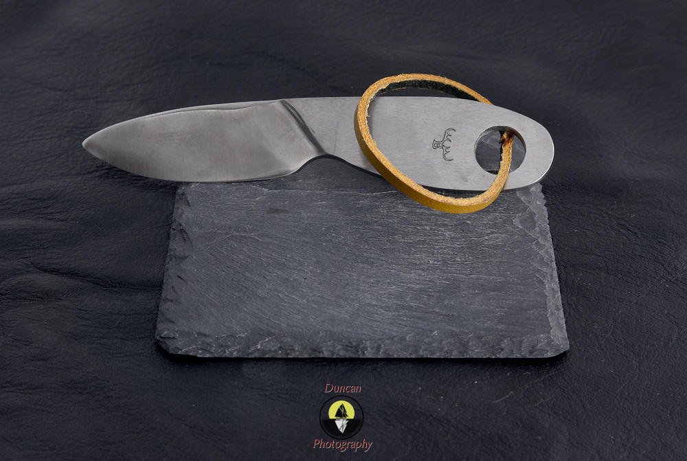YARMOUTH, Maine -- 6/12/18 -- Bruce Bohrmann Knives are made by hand in Yarmouth Maine and are available for sale by going to: <br /> https://buyknives.myshopify.com/collections/bruce-bohrmann-knives-yarmouth-maine<br /> <br /> Photo ©2018 Roger S. Duncan <br /> http://www.rogerduncanphoto.com