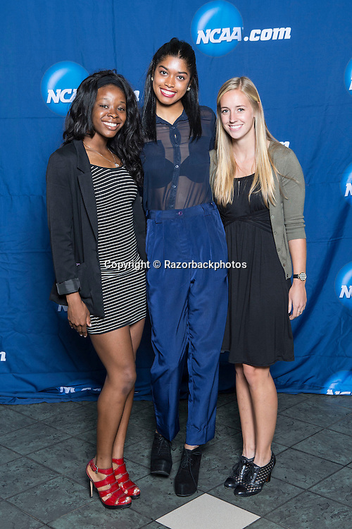 Photos from the NCAA Indoor Track & Field Championships banquet in Fayetteville, Arkansas.