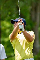 May 4, 2019 - Charlotte, NC, U.S. - CHARLOTTE, NC - MAY 04: Sungjae Im hits from the 4th hole tee box  during the third round of the Wells Fargo Championship at Quail Hollow on May 4, 2019 in Charlotte, NC. (Photo by William Howard/Icon Sportswire) (Credit Image: © William Howard/Icon SMI via ZUMA Press)