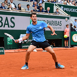 Dominic Thiem (AUT) during the men Final of Roland Garros on June 9, 2019 in Paris, France. (Photo by Anthony Dibon/Icon Sport)