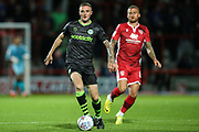 Forest Green Rovers Carl Winchester(7) runs forward during the EFL Sky Bet League 2 match between Morecambe and Forest Green Rovers at the Globe Arena, Morecambe, England on 22 October 2019.