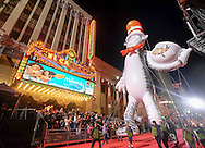 Giant balloon &quot;Dr. Seuss&rsquo; The Cat In The Hat&quot; moves along Hollywood Boulevard during the 85th Annual Hollywood Christmas Parade in Los Angeles on Sunday December 27, 2016. (Photo by Ringo Chiu/PHOTOFORMULA.com)<br /> <br /> Usage Notes: This content is intended for editorial use only. For other uses, additional clearances may be required.