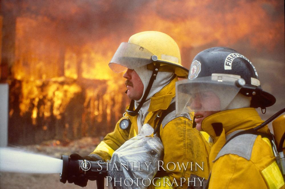 Firemen, Firefighters, fire