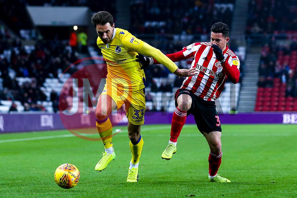 Alex Rodman of Bristol Rovers takes on Bryan Oviedo of Sunderland - Mandatory by-line: Robbie Stephenson/JMP - 15/12/2018 - FOOTBALL - Stadium of Light - Sunderland, England - Sunderland v Bristol Rovers - Sky Bet League One