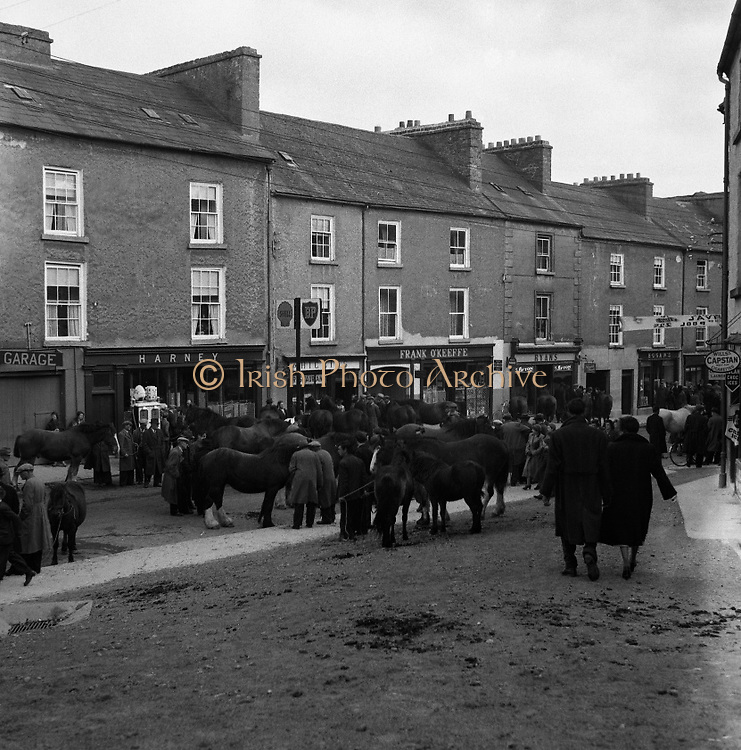 Ballinasloe Horse Fair, Co. Galway. 25/04/1957.