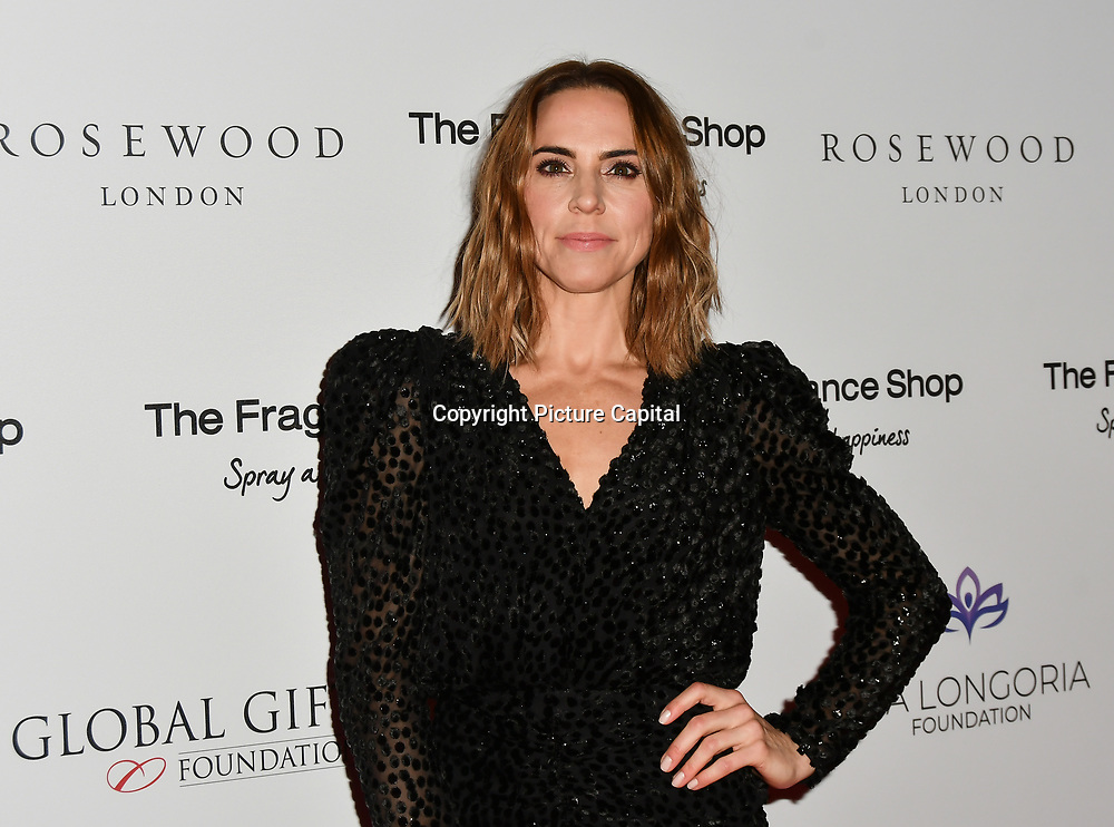 Melanie C Arrivers at The Global Gift Gala red carpet - Eva Longoria hosts annual fundraiser in aid of Rays Of Sunshine, Eva Longoria Foundation and Global Gift Foundation on 2 November 2018 at The Rosewood Hotel, London, UK. Credit: Picture Capital