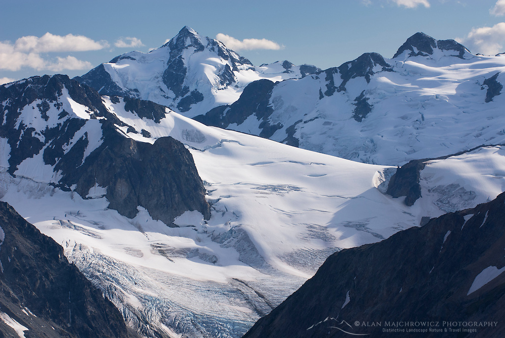 Mount Athelstan 2800 m (9186 ft) seen from Ochre Mountain, Coast Ranges British Columbia Canada