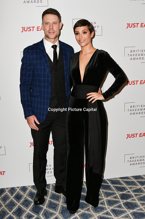 Wayne Bridge and Frankie Bridge attends the British Takeaway Awards, in association with Just Eat at London's Savoy Hotel on 12 November 2018, London, UK.