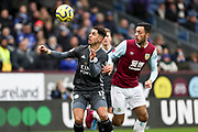 Leicester City forward Ayoze Pérez control the ball during the Premier League match between Burnley and Leicester City at Turf Moor, Burnley, England on 19 January 2020.