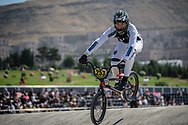 16 Boys #253 (WAKELIN Tasman) NZL at the 2018 UCI BMX World Championships in Baku, Azerbaijan.