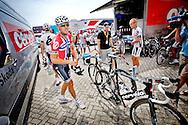 Rotterdam 20090701. Thor Hushovd er optimist før Tour de France starten i Nederland. .Foto: Daniel Sannum Lauten/VG