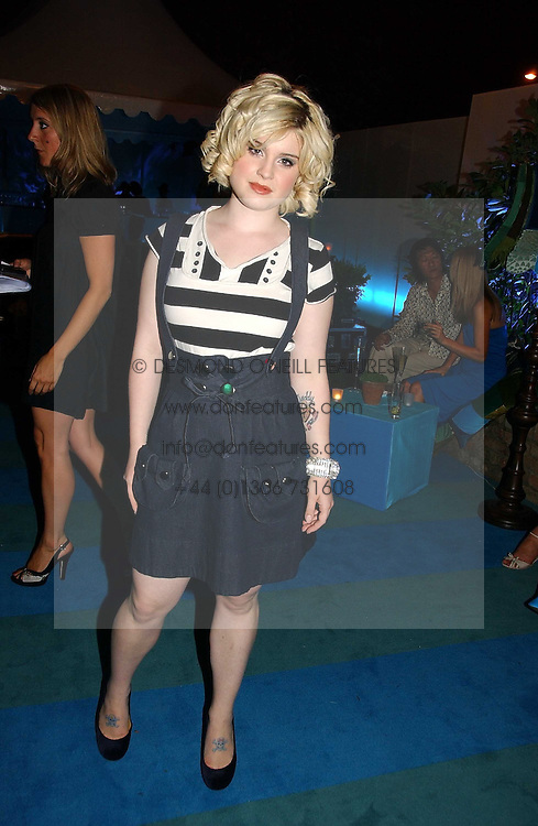 KELLY OSBOURNE at a party to celebrate FilmFour becoming the UK's first major free film channel held at Debenham House, Addison Road, London on 20th July 2006.<br /><br />NON EXCLUSIVE - WORLD RIGHTS