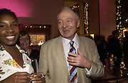 "KEN LIVINGSTONE, The after show party following the UK Premiere of ""Match Point,"" at Asprey, New Bond st. London.   December 18 2005 ,  ONE TIME USE ONLY - DO NOT ARCHIVE  © Copyright Photograph by Dafydd Jones 66 Stockwell Park Rd. London SW9 0DA Tel 020 7733 0108 www.dafjones.com"