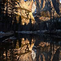 Yosemite Falls 7-35 AM