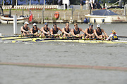 Henley, GREAT BRITAIN, Temple Challenge Cup. Brown University leading University of Michigan USA. at the 1.18 mile post. Henley Royal Regatta. 2012 Henley Royal Regatta. ..Thursday  11:41:40  28/06/2012. [Mandatory Credit, Peter Spurrier/Intersport-images]...Rowing Courses, Henley Reach, Henley, ENGLAND . HRR.