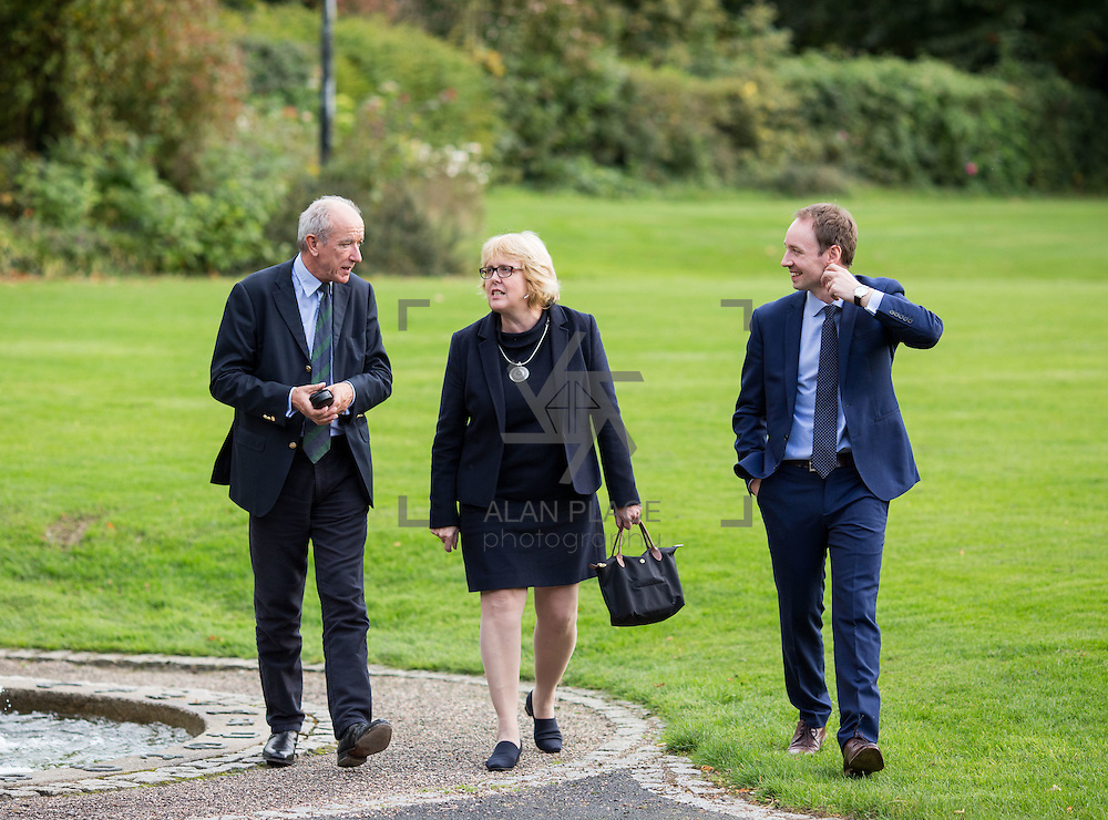 14.10.2016                 <br /> A new research centre focussing on Irish and European history and culture was launched in Limerick.<br /> <br /> Pictured at the launch were, Prof. Anthony McElligott, Head Department of History UL, Prof. Jane Ohlmeyer, Erasmus Smith&rsquo;s Chair of Modern History, Trinity College Dublin, Director of the Trinity Long Room Hub, and Chair of the Irish Research Council and Dr. Richard Kirwan, Dept. History UL.<br /> <br /> The Centre for Early Modern Studies brings together experts from University of Limerick and Mary Immaculate College to further the study of the history and culture of the 16th, 17th and 18th centuries. <br /> <br /> The Centre for Early Modern Studies was launched  with an inaugural lecture by Professor Jane Ohlmeyer, Erasmus Smith&rsquo;s Chair of Modern History, Trinity College Dublin, Director of the Trinity Long Room Hub, and Chair of the Irish Research Council. Professor Ohlmeyer spoke on the topic of &lsquo;Early Modern Ireland and the Wider World&rsquo;.<br /> Picture: Alan Place