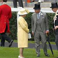 Ascot 20th June 2007 Second day at Royal Ascot with celebrities and members of the Royal Family
