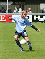 FODBOLD: Christian Pind (Helsingør) under kampen i Kvalifikationsrækken, pulje 1, mellem Elite 3000 Helsingør og Virum-Sorgenfri Boldklub den 25. maj 2006 på Helsingør Stadion. Foto: Claus Birch